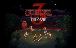 В Steam продаётся экшен Stranger Things 3: The Game