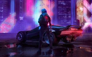В Cyberpunk 2077 получится призвать машину и мотоцикл