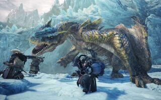 Вышло два новых ролика Monster Hunter World: Iceborne