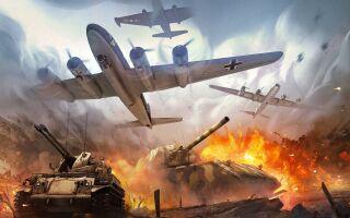 War Thunder – Тизер режима «Мировая Война»