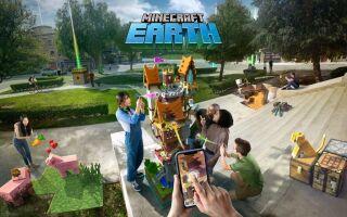 Вышел геймплейный ролик Minecraft Earth