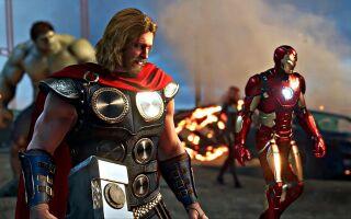 В сеть слили геймплейный ролик Marvel's Avengers