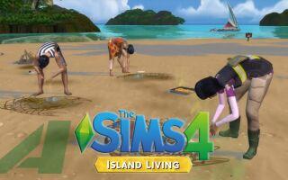 Вышел геймплейный ролик DLC «Island Living» для Sims 4