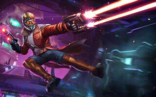 В Fortnite появился Звёздный Лорд