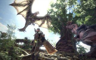 Авторы Monster Hunter World показали летающую виверну