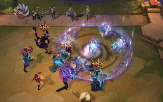 В Teamfight Tactics появится четыре новых героя