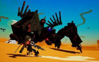 На E3 показали геймплейный ролик и озвучили дату выхода Daemon X Machina