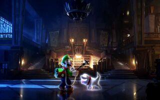 Авторы Luigi's Mansion 3 показали кооперативный режим