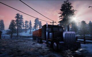 Вышло геймплейное видео Alaskan Truck Simulator