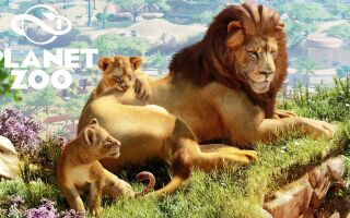 Геймплейное видео симулятора зоопарка Planet Zoo