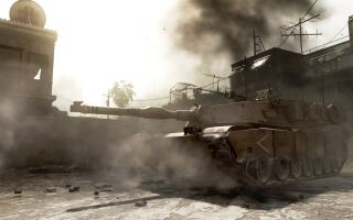 За серию убийств в CoD: Modern Warfare можно получить танк