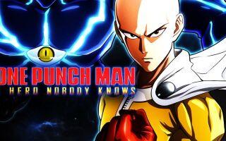 Состоялся анонс файтинга One Punch Man: A Hero Nobody Know