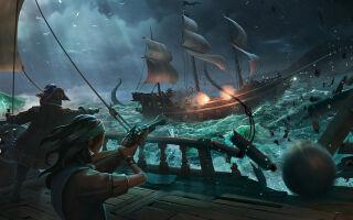 В Sea of Thieves добавили Корабль Проклятых