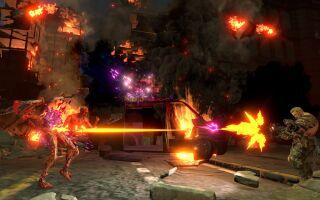 Вышло геймплейное видео кооперативного режима в Contra: Rogue Corps