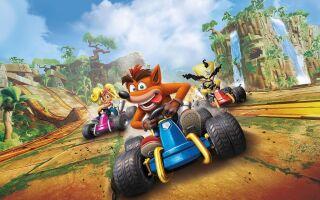 Свежее геймплейное видео ремастера Crash Team Racing