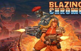 В Steam состоялся релиз 2D-экшена Blazing Chrome