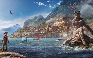 В Assassin's Creed Odyssey появился познавательный тур про Грецию