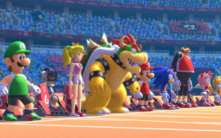 Авторы Mario and Sonic at the Tokyo 2020 опубликовали геймплейный ролик