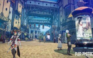 Появились первые геймплейные кадры MMORPG Blue Protocol