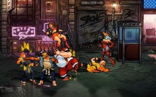 Вышел геймплейный ролик Streets of Rage 4