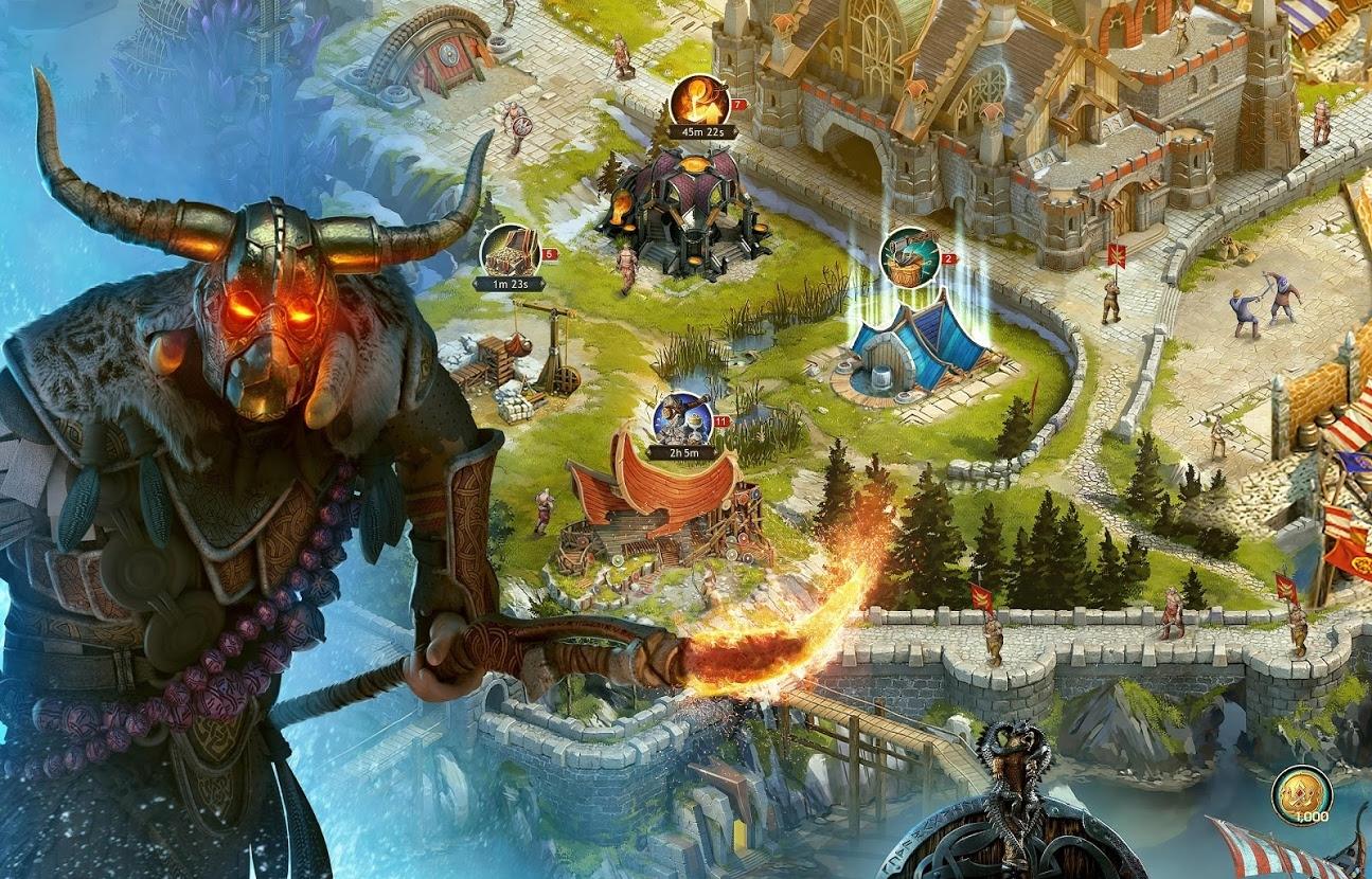 Vikings War of Clans навыки героя на атаку