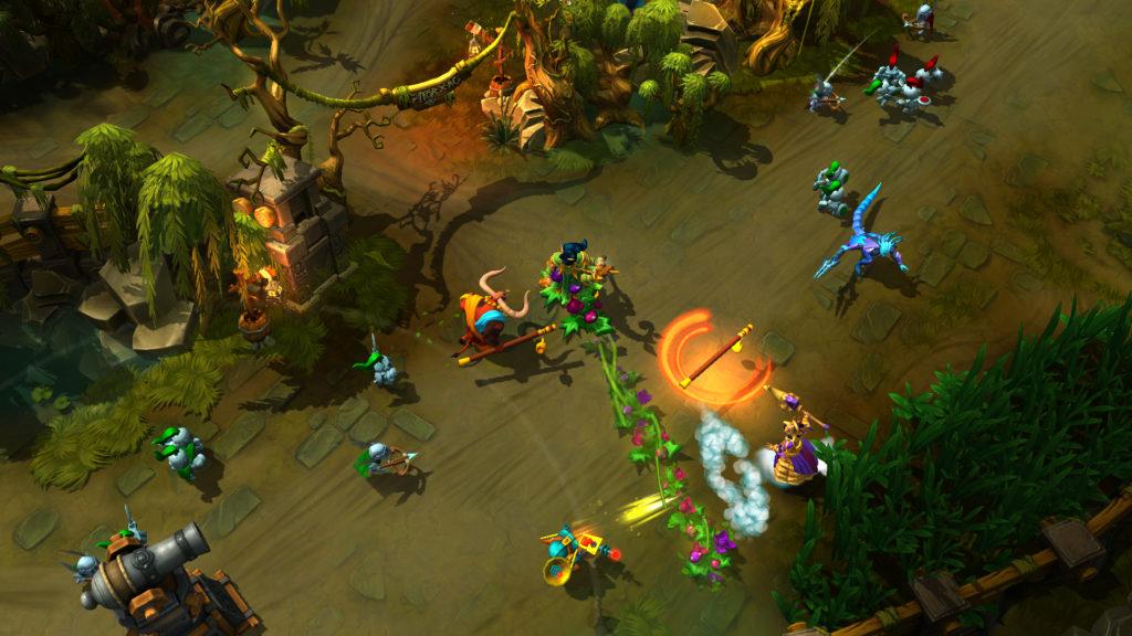 Массовые сражения в игре Prime World
