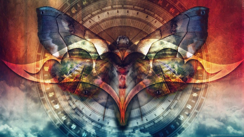 Красивая картинка бабочки из игры