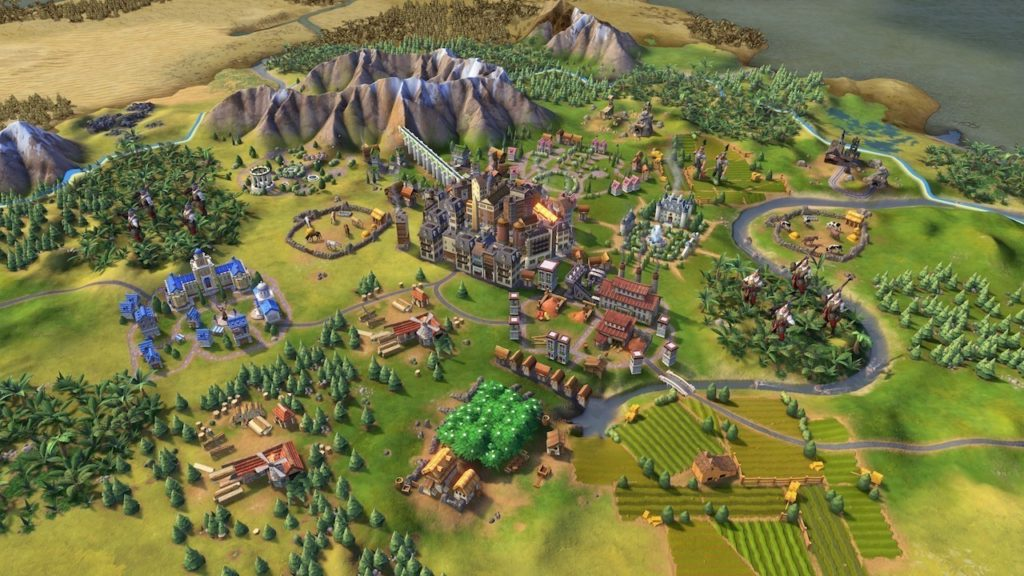 Стратегическая игра с развитием города